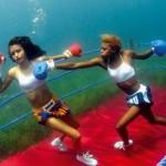 Подводен фитнес за отслабване
