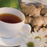 Чай от джинджифил и мандарина за отслабване