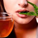 Чай за отслабване от мента