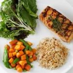 Порции на храната в  диетата