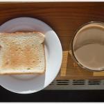 Калории в диетичната закуска – кафе и печена филия