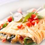 Фитнес омлет с аспержи и домати
