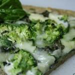 Рецепта за здравословна зелена пица