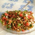 Арабска салата от леща