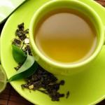 Зелен чай с лимон и джинджифил  за отслабване