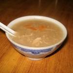 Пилешка супа за отслабване с водорасли