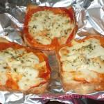 Диетична пицета със сирене и домати
