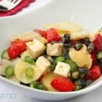 Картофена салата с ягоди