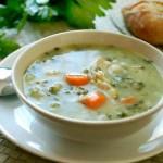 Диетична супа от пуешко месо