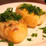 Диетични пълнени картофи