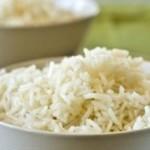 Диетичен ориз с патладжан и домат