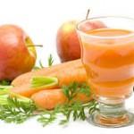 Сок от ябълки, маруля и пащърнак при умора и напълняване