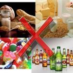 Забранени храни в диетата за отслабване