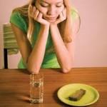 Първи симптоми на анорексията