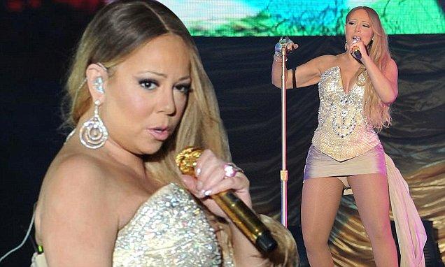 Mariah Carey in concert, Chengdu, Sichuan Province, China - 12 Oct 2014