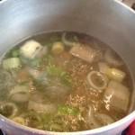 Диуретична супа от целина и лук за диетата ви за отслабване