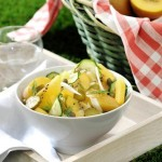 Лятна салата с киви и картофи