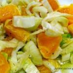 Вегетарианска салата с маруля и портокали