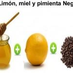 Рецепта за следпразнично отслабване с лимон, мед и черен пипер