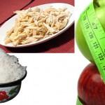 9- дневна диета с ориз, пилешко и ябълки