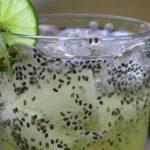 Вода с лимон и семена от чия за отслабване