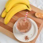 Протеинов шейк за отслабване от какао и банан