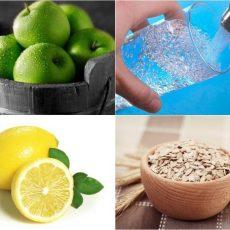 Напитка за отслабване от ябълки, лимон и овесени ядки